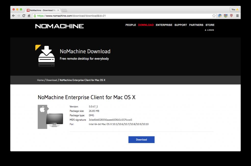 nx-client-download