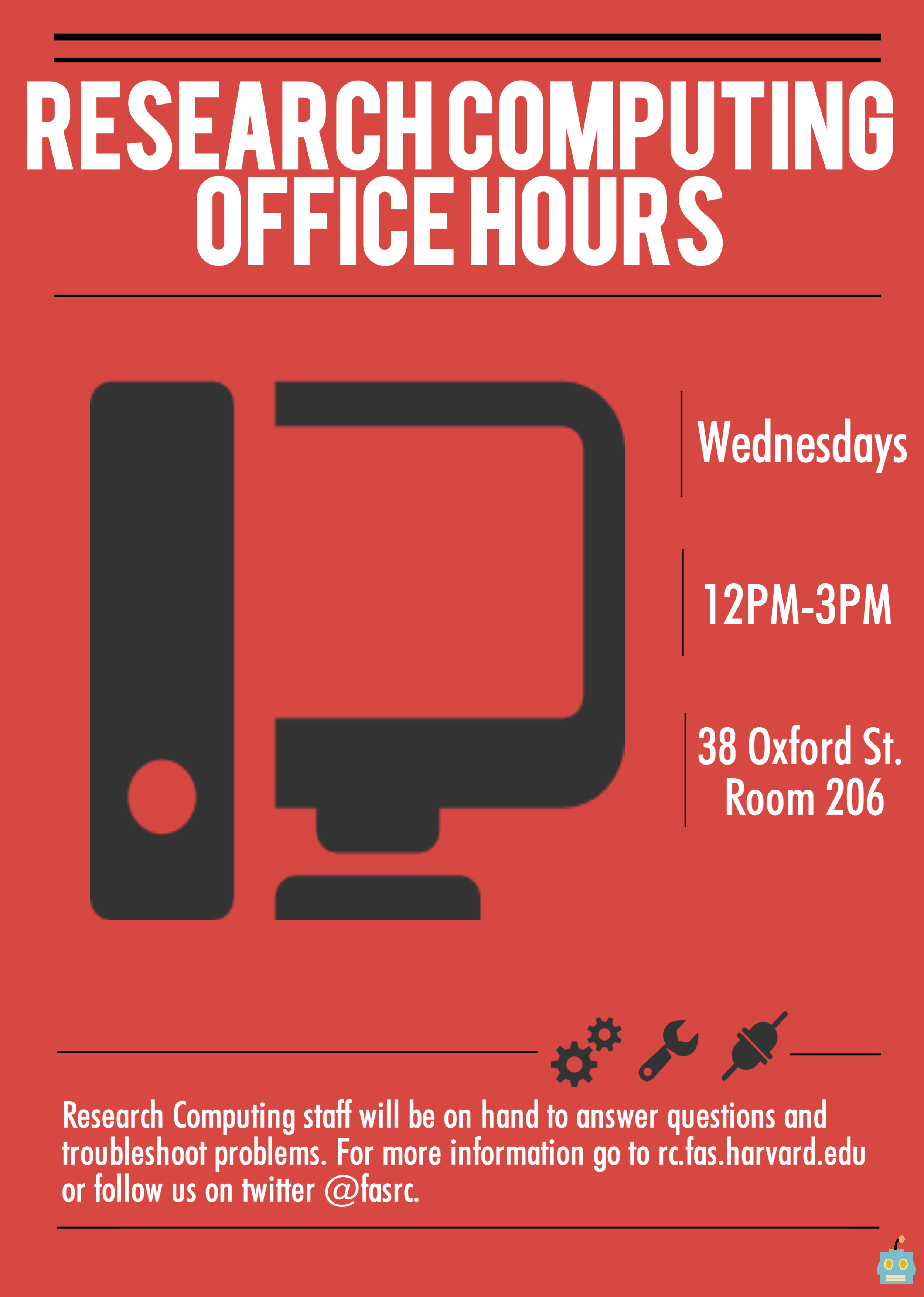 RC Office Hours Poster